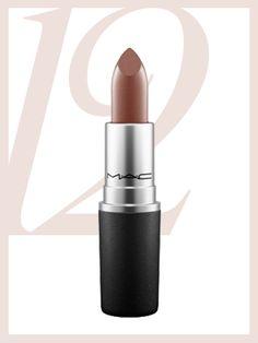 Popular Pinterest Lip Colors - M.A.C. Lipstick in Stone | allure.com