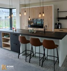 With KOAK Design you can create your design for your IKEA Kitchen. We make pure solid oak front