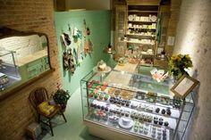 Tienda de cupcakes vintage en Barcelona