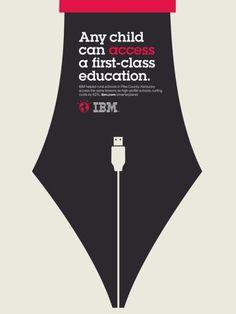 IBM: Smarter Planet, Nib. IBM print ads illustration + design by Noma Bar  and Tanya Holbrook.
