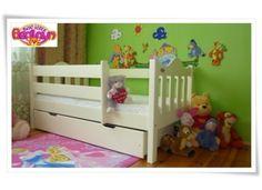 Łóżko dla dzieci MAX 160 X 80 z szufladą WANILIA