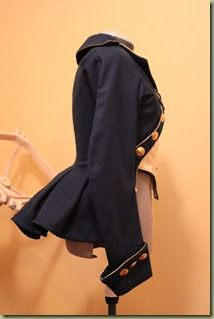 My love for period clothing precedes the love for 50s clothing. Gorgeous riding jacket here.