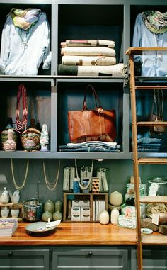 Great boutique with a mix of modern and antique treasures.