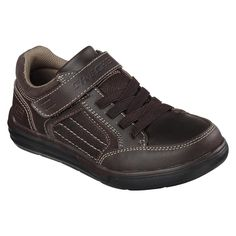 Skechers Boys' Maddox Ashez Brown Sneaker - Clothing, Shoes & Jewelry - Shoes - Baby & Kids Shoes - Boys' Shoes