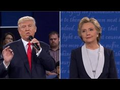 The Second Presidential Debate: Hillary Clinton And Donald Trump (Full Debate)   NBC News Streamed live on Oct 9, 2016 Hillary Clinton and Donald Trump square off on Oct. 9, Sunday, 9 p.m. EST at Washington University, St. Louis, Missouri in the second presidential debate of the 2016 election.