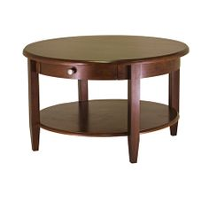 Winsome Wood 94231 - Concord Round Coffee Table with Drawer & Shelf   Sale Price: $150.35