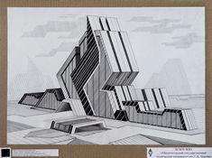 Архитектура Композиция Детали Чертежи Графика