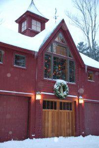 Christmas Barn Yankee Barn