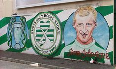 Jimmy Jinky Johnstone on the Pitch Belfast Murals, Glasgow, Rangers Fc, Celtic Fc, European Cup, Social Media Engagement, Picts, Urban Art