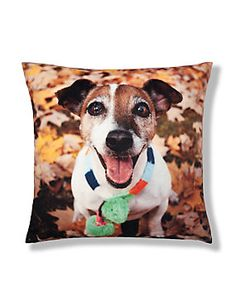 Terracotta Mix Freddie Jack Russell Cushion - M&S