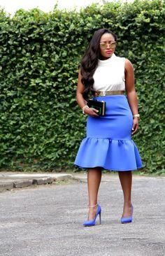 Toun 'AJ': Blues #fashionBlogger #streetstyle #womensfashion