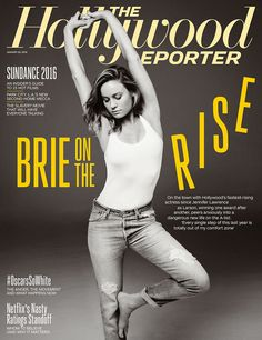 """Brie Larson's 20-Year Climb to Overnight Stardom: I'm """"Totally Out of My Comfort Zone"""" - Hollywood Reporter"""