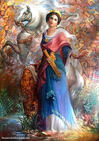 """Grand Admiral Artemisia became the ruler of Halicarnassius (A Greek City-State and a colony of Persian Empire).    She ruled under the overlordship of the Persian Emperor Xerxes I (Kheshayar Shah). The name """"Artemisia"""" means: """"The great speaker of truth."""""""