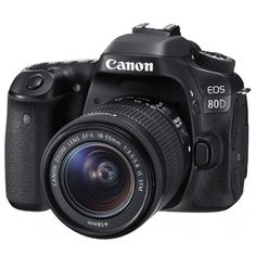 Canon EOS 80D 24.2MP Kit (18-55mm) Digital Cameras @ 12 % Off With FREE ACCESSORY. Order Now!!!