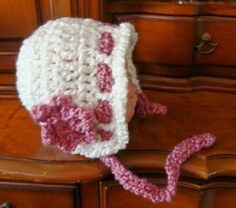 Quick and Easy Baby Bonnet Crochet Pattern PDF 440. $2.50, via Etsy.@capecodcrochet