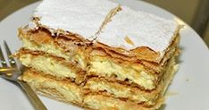 Ingredients: kg puff pastry butter 8 dl milk 5 pcs .- Hozzávalók: kg leveles vajas tészta 8 dl tej 5 db tojás 25 dkg… Ingredients: kg buttered puff pastry 8 dl milk 5 pcs eggs 25 dkg sugar 12 dkg flour 2 sachets of bourbon vanilla sugar 6 … - Chicken And Pastry, Corn Dishes, Pastry Design, Choux Pastry, Vanilla Sugar, Charcuterie Board, Finger Foods, Milk, Butter
