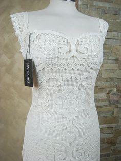 Exclusive ivory lace wedding dress bridal dress by LecrochetArt