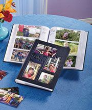 Embossed Collage Photo Albums