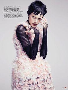 Ehren Dorsey by Emre Unal for Vogue Turkey (May 2013).