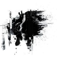 Black Paint Splash Wallpaper and Photo (High Resolution Download) ❤ liked on Polyvore featuring backgrounds, effects and fillers