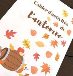 Imprimez gratuitement un cahier d'activités spécial automne pour amuser vos enfants : labyrinthes, puzzle, points à relier, différences et plus encore.