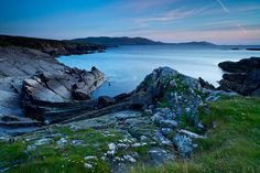 """""""Beara Peninsula, County Cork, Ireland,"""" by Vincent Besanceney, via Flickr -- """"The Beara Peninsula (Irish: Béara) is a peninsula on the south-west coast of Ireland, bounded between the Kenmare """"river"""" (actually a bay) to the north side and Bantry Bay to the south. It has two mountain ranges running down its centre: the Caha Mountains and the Slieve Miskish Mountains..."""""""