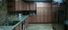 a large chef style kitchen on site!