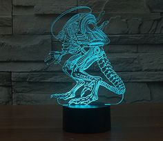Cheap night light, Buy Quality night light lamp directly from China changing led Suppliers: Fashion Touch Alien 7 Colors Change LED Desk Table Night Light Lamp Xmas Gift Childrens Christmas Gifts, Bedroom Night Light, Best Night Light, Lamp Switch, Novelty Lighting, Touch Lamp, Color Changing Led, Led Lamp, Light In The Dark