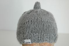 knitted baby hat Baby Hats Knitting, Knitted Baby, Beanie, Fashion, Moda, La Mode, Fasion, Beanies, Fashion Models