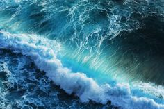 Ocean Waves for The Design Confidential Artistic Appeal Wet + Wild Edition