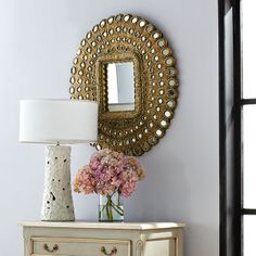 Wisteria+-+Mirrors+&+Wall+Decor+-+Mirrors+-+All+Mirrors+-++Baby+Peacock+Mirror+-+$399.00