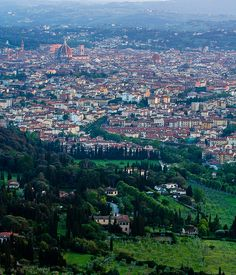 Sunset View of Florence from Fiesole