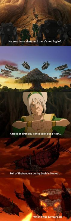 Toph, go. Be your beautiful blind self because I have no life. *Dies cackling laughter*