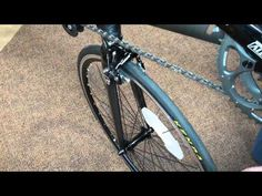 How to remove and re-install your front and rear wheels - YouTube