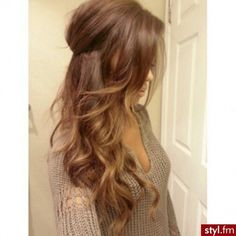 I loooove this hair color (: !
