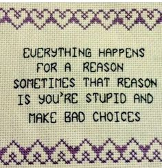 I need to needlepoint myself a pillow with this expression. Cross Stitching, Cross Stitch Embroidery, Hand Embroidery, Cross Stitch Patterns, Funny Embroidery, Floral Embroidery, Embroidery Patterns, The Words, Now Quotes