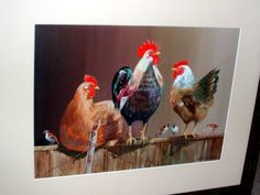 Also an oil by Aston Greathead part of a wonderful collection of original bird paintings.