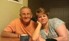 My dad and my beautiful niece, Maria. <3