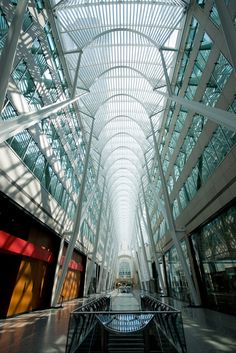 Architecture - Glass and Steel Structure