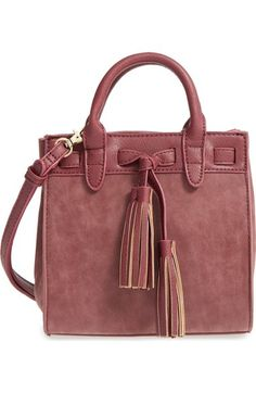 Sole Society 'Mini Ciela' Faux Leather Satchel available at #Nordstrom