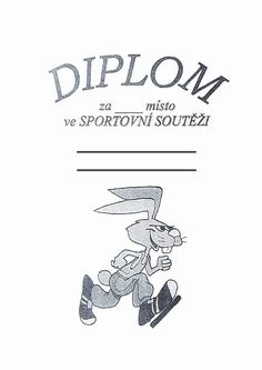 Diplom - zajda běh Petra, Sport, Children, Deporte, Kids, Sports, Sons, Child, Babies