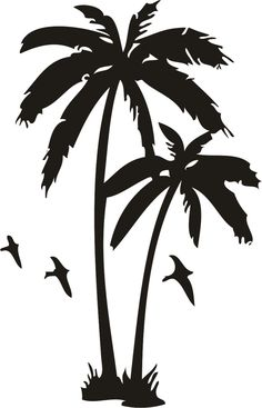 Palm Tree And Sunset Tattoo Designs Palm tree tattoos designs