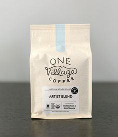 Artist is one of our original Signature Blends and our best seller. It is a  mélange, a blend of two slightly different roast levels combined to achieve  depth and complexity in the finished product. For Artist we use coffee from  COMSA, a Co-op in Marcala, Honduras. The result is sweet and balanced, with  dark chocolate notes and a hint of smokey roast flavor. We think it speaks  for itself!  Roast Level | Medium  We Taste | Caramel & Dark Chocolate  Whole Bean Only!