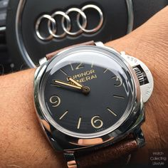 #mulpix A perfect execution inspired by the rich history of @Panerai The Luminor 1950 3 Days PAM 3️⃣7️⃣2️⃣. #Panerai  #paneristi  #luminor1950  #1950  #pam372  #watchlife  #watchporn  #watchcollector  #watchcollecting  #watchcollectinglifestyle  #thegoodlife  #horology  #dailywatch  #lovewatches  #womw  #luxuryliving  #paneraicentral  #wristgame  #panerailuminor  #luminormarina  #wcl  #firenze  #panerai372  #paneraigallery   #paneristiforever  #sickwatchchallenge  #instadaily  #audi…