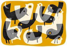'Very Early Birds'.   Lo Cole