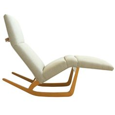 JOHN KEAL | From a unique collection of antique and modern rocking chairs at http://www.1stdibs.com/seating/rocking-chairs/