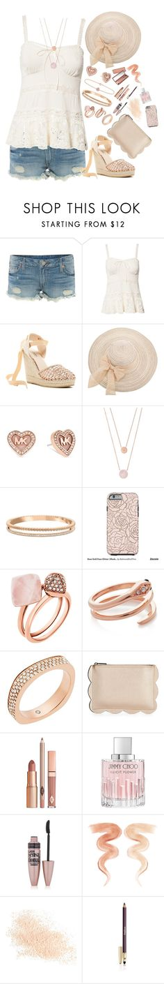 """Untitled #1381"" by style-and-chic-boutique ❤ liked on Polyvore featuring True Religion, Denim & Supply by Ralph Lauren, Catherine Catherine Malandrino, Michael Kors, Swarovski, Neiman Marcus, Dolce Vita, Jimmy Choo, Maybelline and Urban Decay"