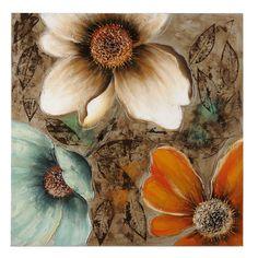 Summer Blooms Canvas Painting   Kirklands