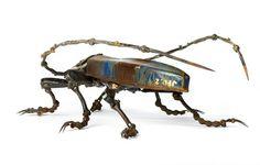 爱德罗德·马丁(Edourard Martine)的金属昆虫 - wuwei1101 - 西花社