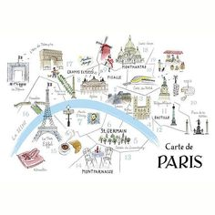 Where to stay in Paris - exceptionally useful post on where's what in Paris